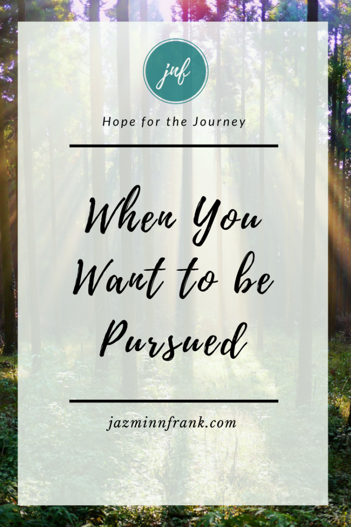 Let God Pursue You