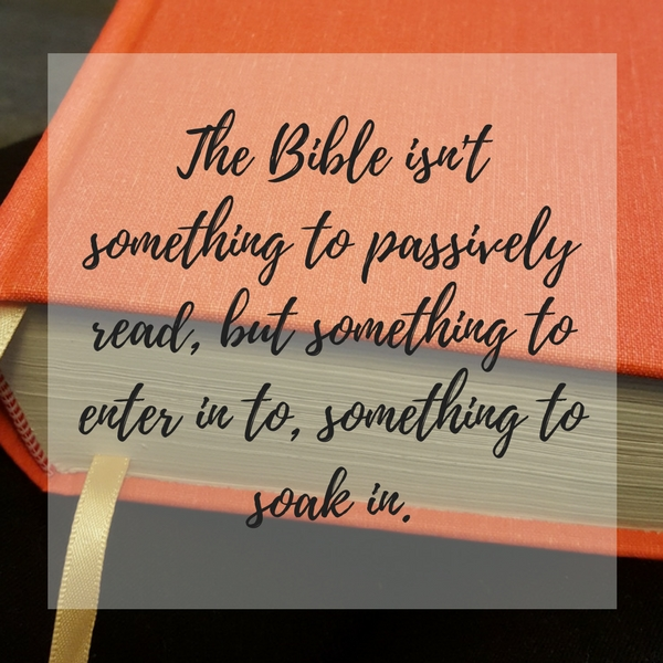 Sitting in Scripture