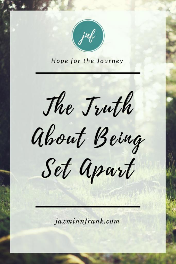 Set Apart Not Set Aside