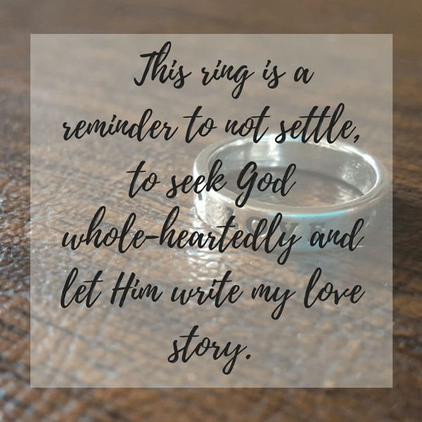 dear heart, about my ring