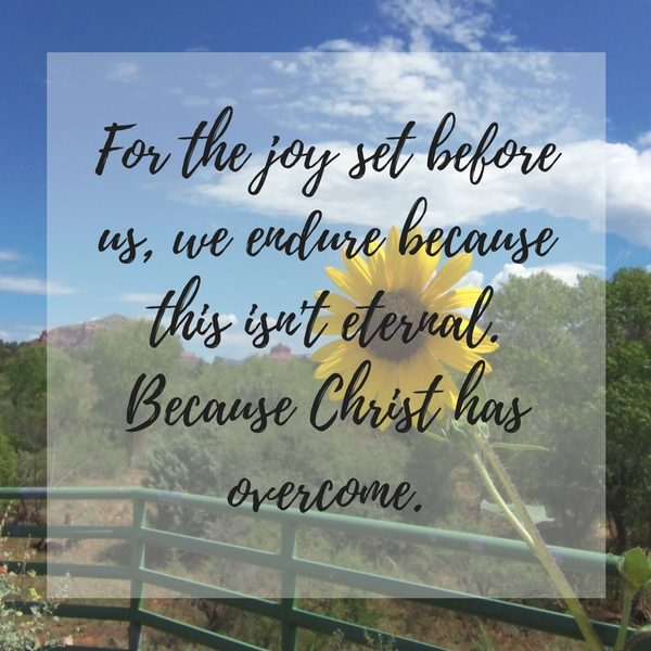 Choosing Joy in Hard Seasons