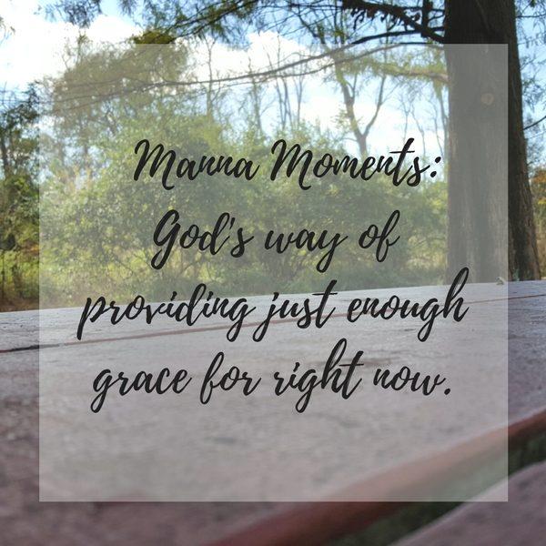 Manna Moments