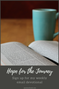 Hope for the journey newsletter image