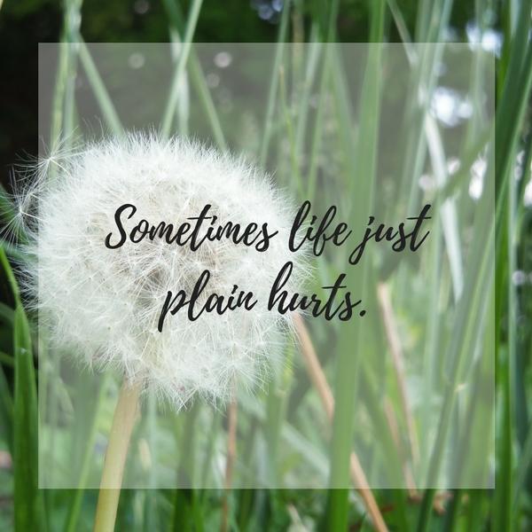 Sometimes it just plain hurts