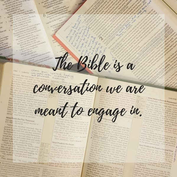 engaging in god's word
