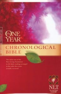 NLT Chronological Bible