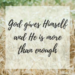 God's Provision: More than Enough
