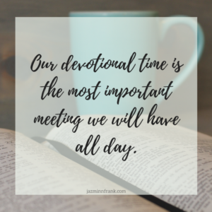 The Most Important Minutes of Your Day