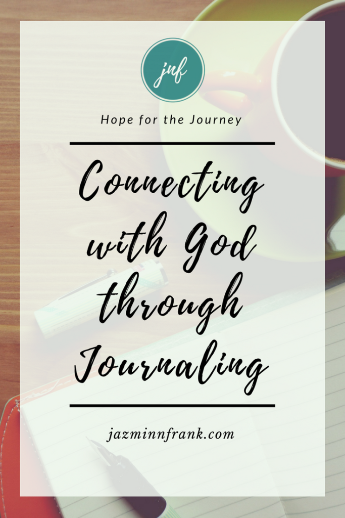 Connecting with God throug journaling Jazmin N. Frank