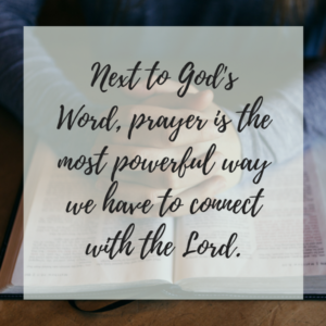 The Power of a Prayerful Life