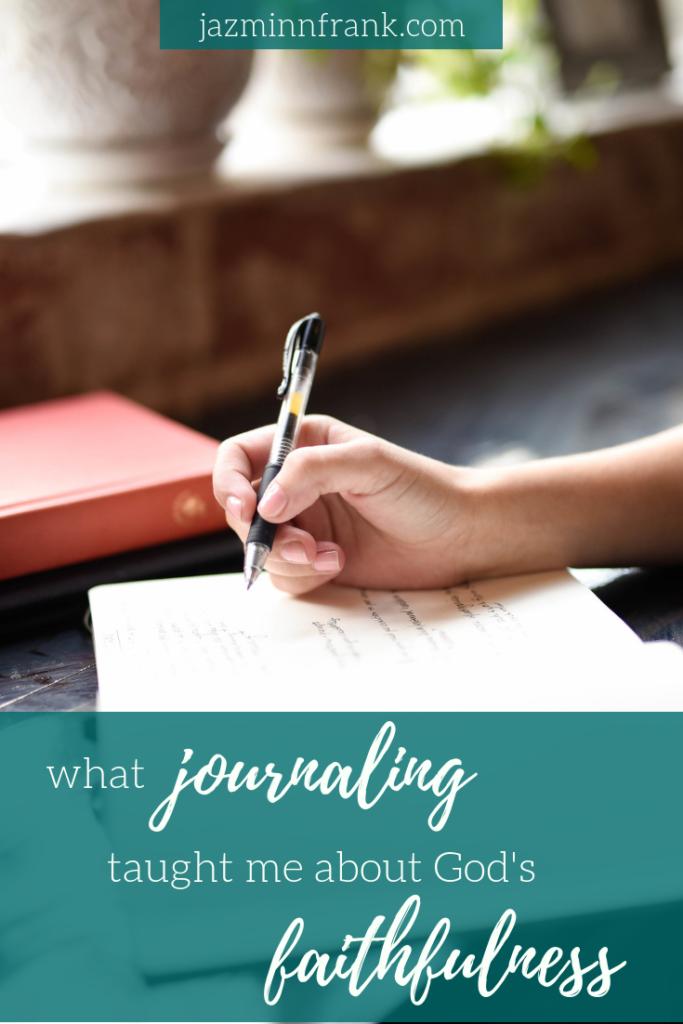 journaling god's faithfulness 020218