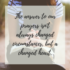 Meaningful Prayer: Praying with your whole heart