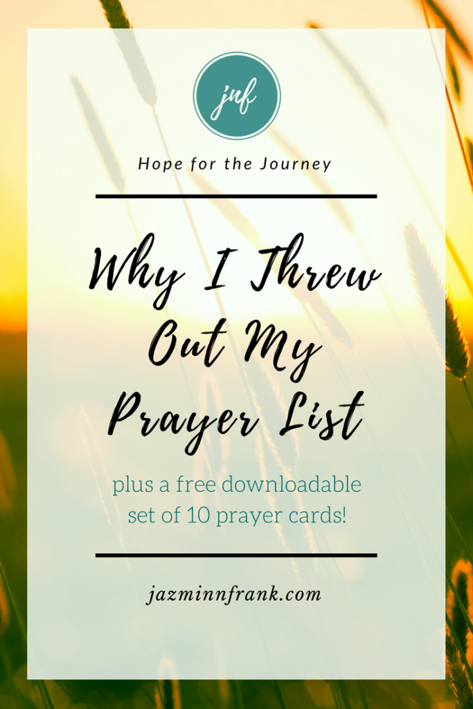 Focused Prayer Pinterest