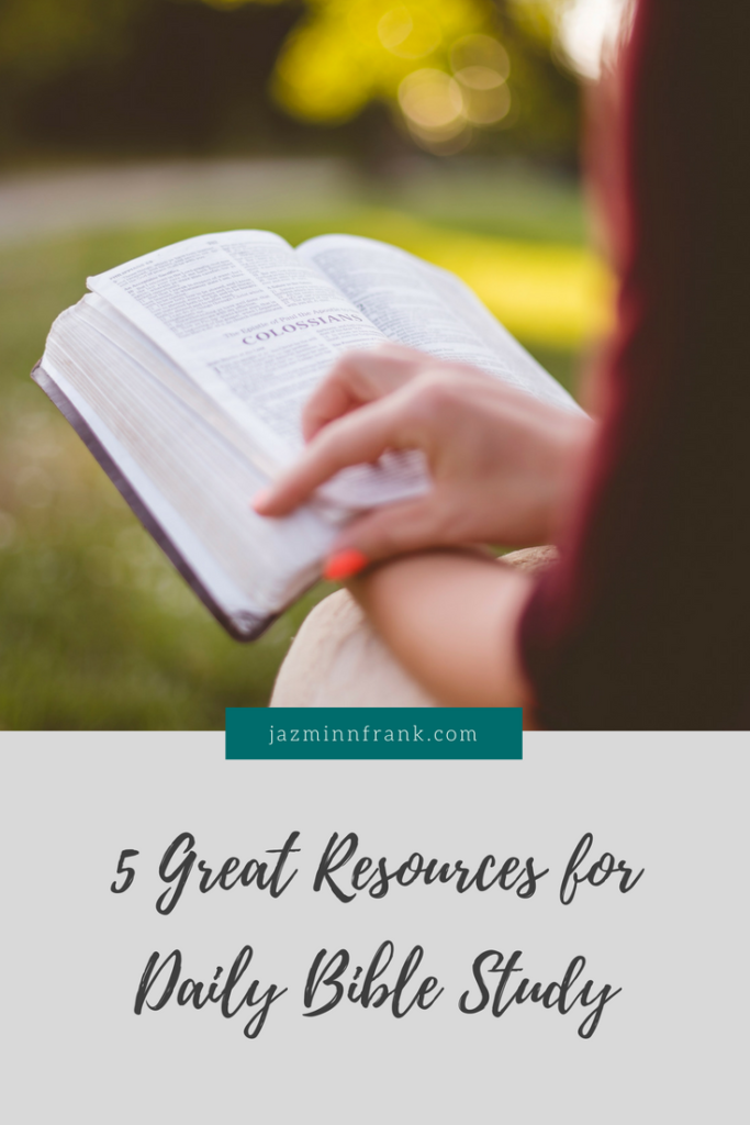 Great Bible study Resources